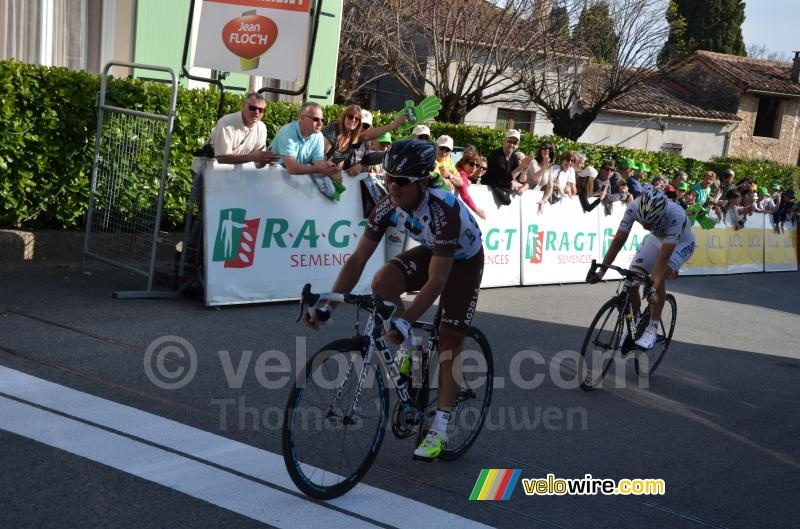 Carlos Betancur remporte la 6ème étape de Paris-Nice 2014 à Fayence