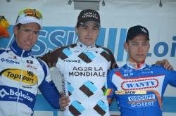 Le podium de la Classic Loire Atlantique 2014