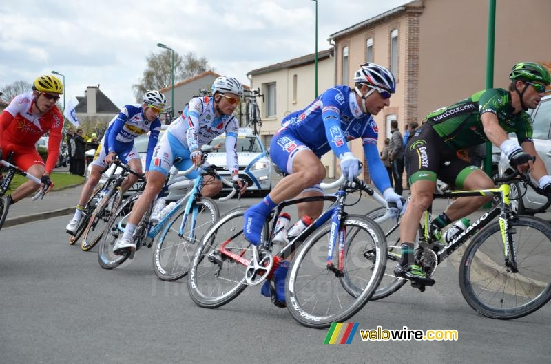 Pierrick Fédrigo (FDJ.fr) in the breakaway