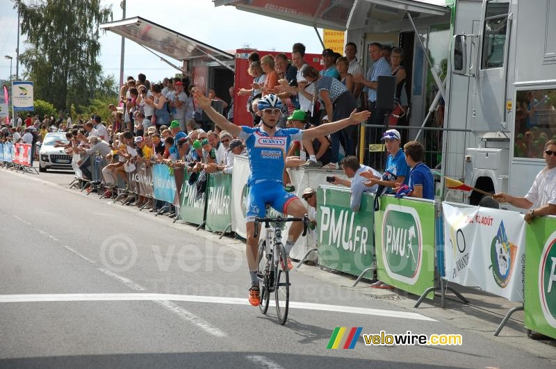 Jan Ghyselinck (Wanty-Groupe Gobert) wins the Polynormande