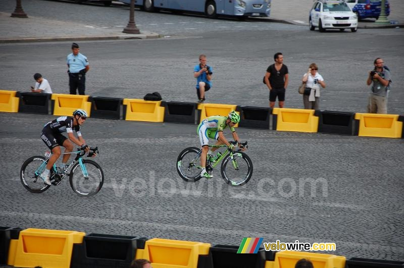 Marco Marcato (Cannondale) & Matteo Trentin (OPQS)