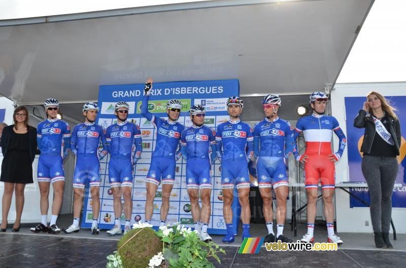 The FDJ.fr team