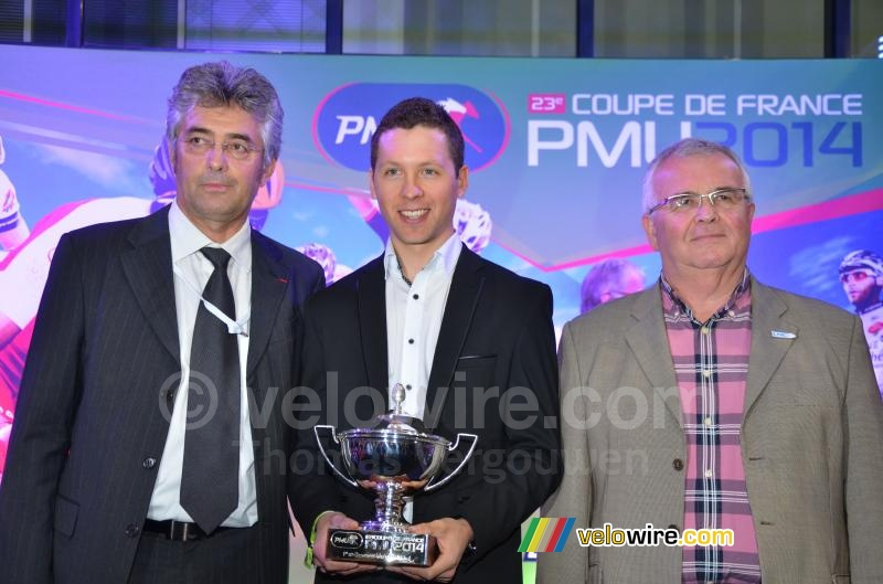 Julien Simon (Cofidis), winnaar van de Coupe de France PMU 2014 (1)