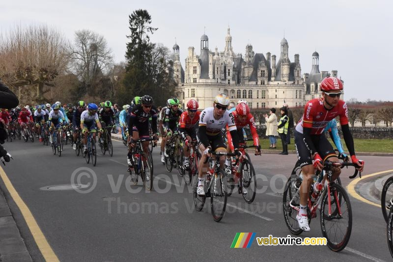 André Greipel (Lotto-Soudal) at the Chambord castle
