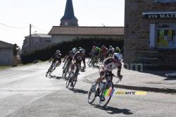 L'équipe AG2R La Mondiale mène la chasse