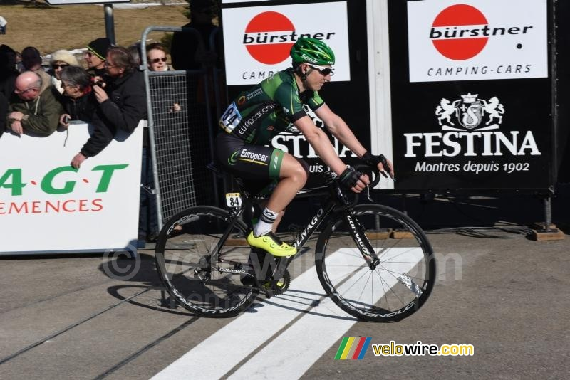 Cyril Gautier (Europcar), at the finish