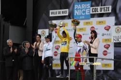 Le podium de Paris-Nice 2015