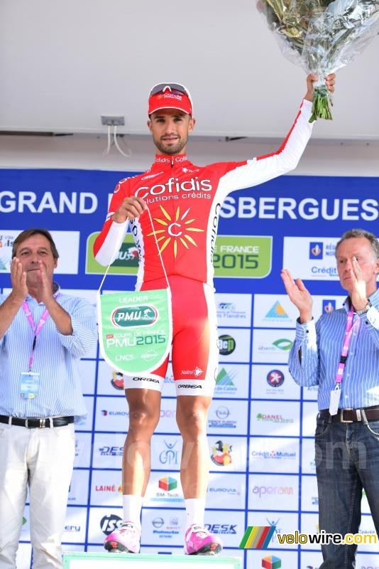 Nacer Bouhanni (Cofidis), new leader of the Coupe de France PMU