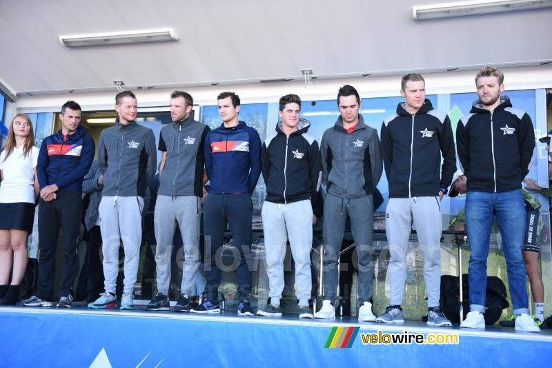 De Wanty-Groupe Gobert ploeg