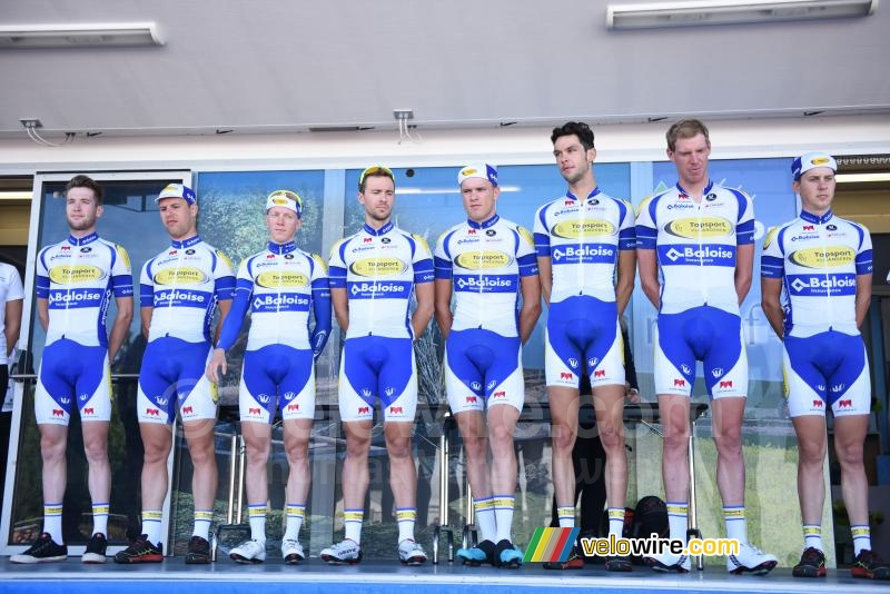 The Topsport Vlaanderen-Baloise team
