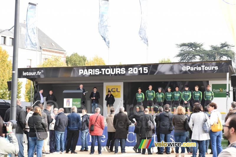 The Europcar team presented