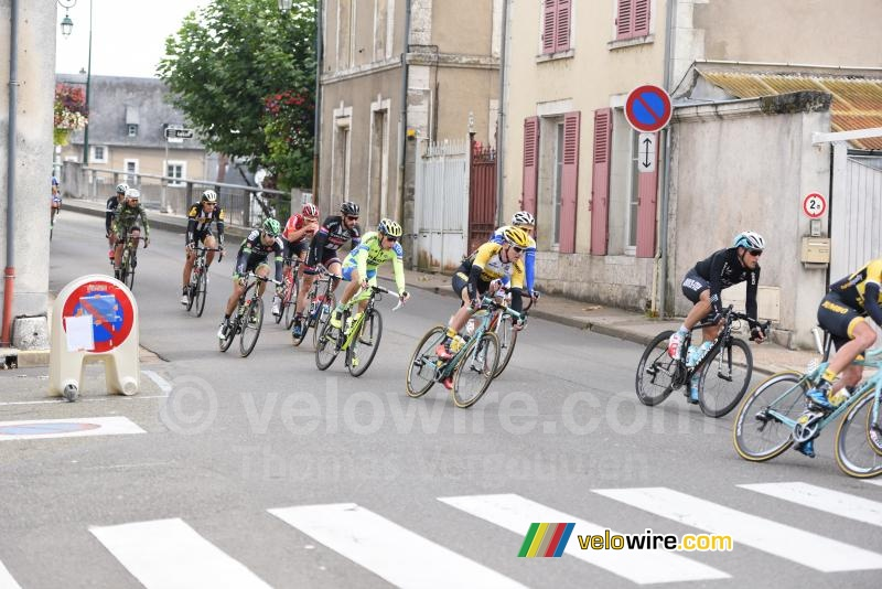 The breakaway in Cloyes-sur-le-Loir