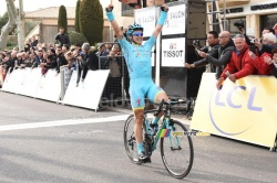 Alexey Lutsenko wins the stage