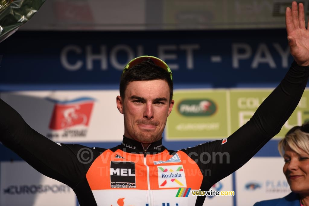 Rudy Barbier on the podium