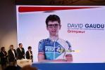 David Gaudu, néo-pro, a 20 ans comme l'équipe (239x)