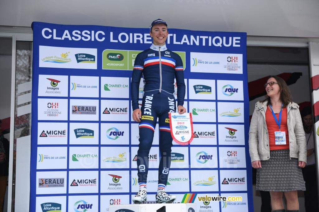 Benoît Cosnefroy, most competitive rider