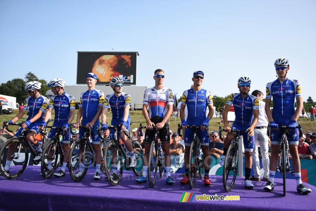 L'équipe Quick-Step Floors