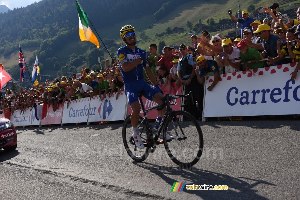 Julian Alaphilippe (Quick-Step) on his way to victory in Le Grand Bornand (2)