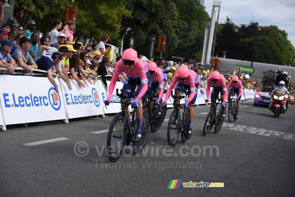 The EF Education First team