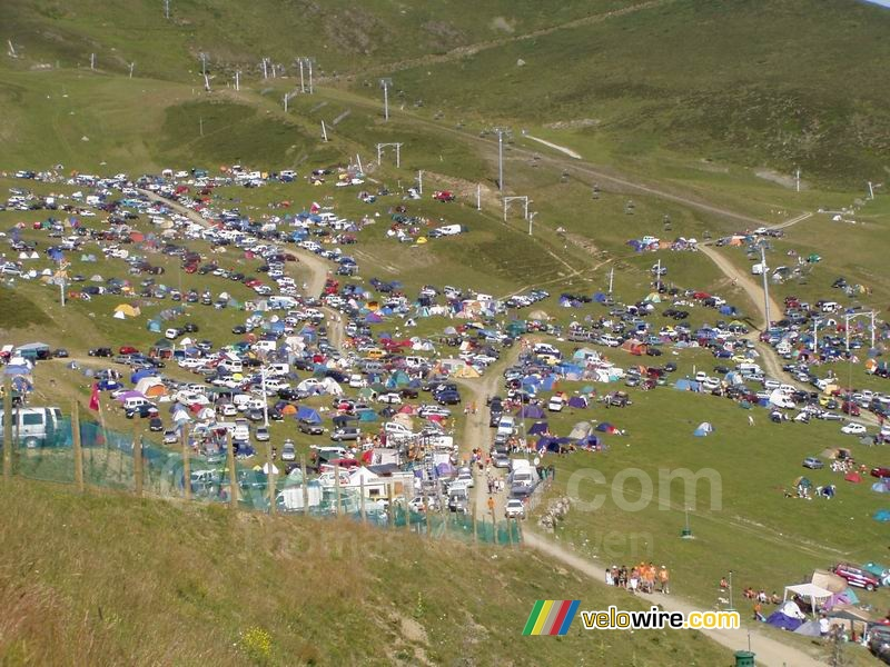 A newly created camping on Pla d'Adet?!