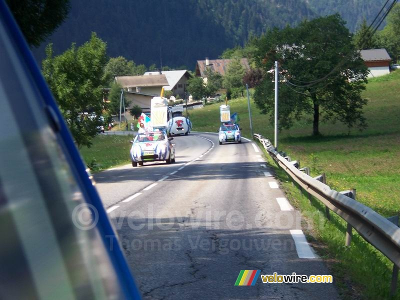 The cars are now behind us - [1 day in the La Vache Qui Rit