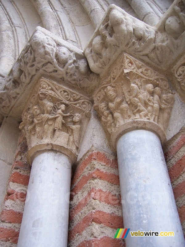 A detail of the church in Rabastens (2)