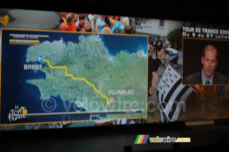 Brest > Plumelec - first stage, Saturday 5 July