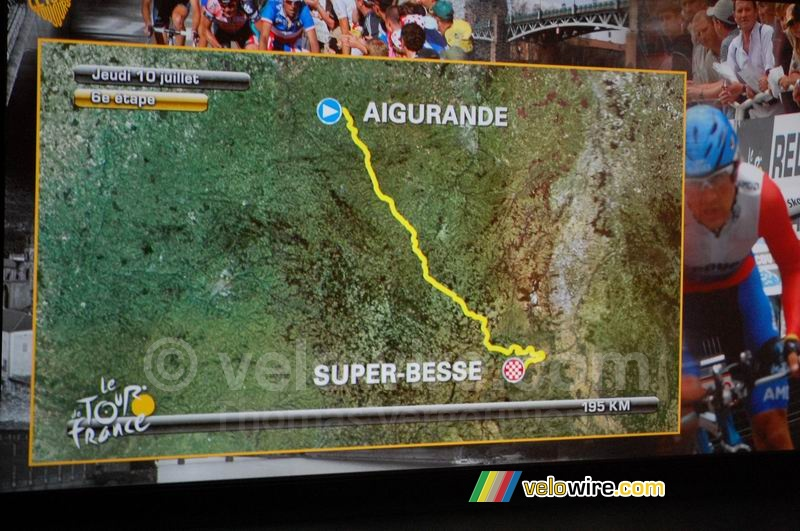Aigurande > Super-Besse  - sixth stage, Thursday 10 July