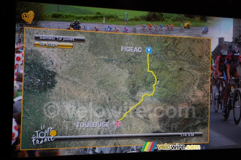 Figeac > Toulouse  - eightth stage, Saturday 12 July