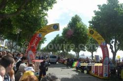 The start in Brest in 2008