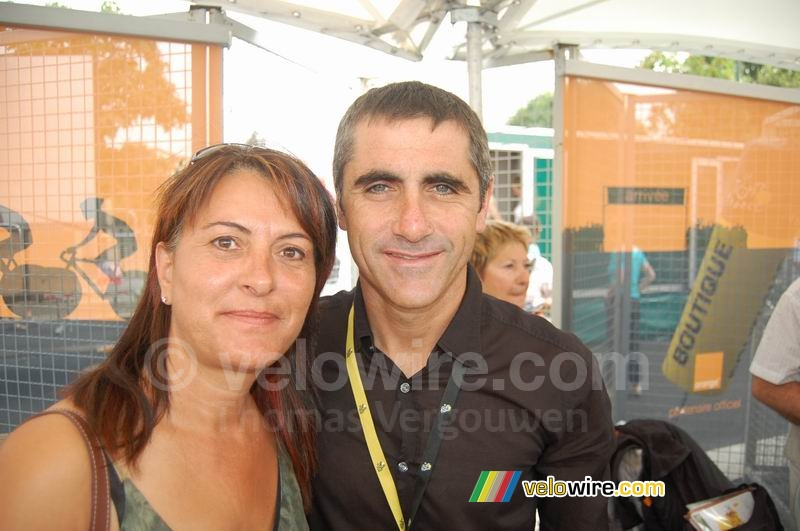 Nathalie & Laurent Jalabert