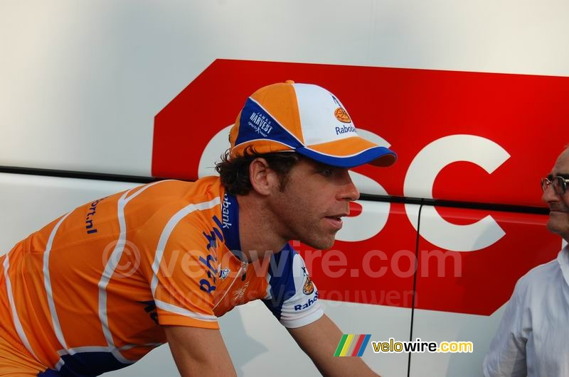 Bram Tankink (Rabobank) - close up