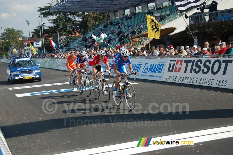 Alexei Kunshin (Russia), Martin Reimer (Germany), Tony Gallopin (France) & Michel Kreder (The Netherlands)
