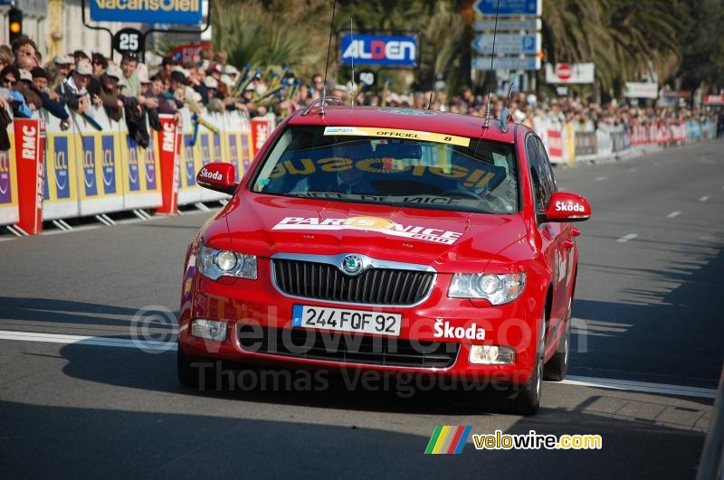 The official car of Paris-Nice 2010