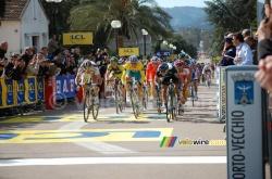 The finish in Porto-Vecchio