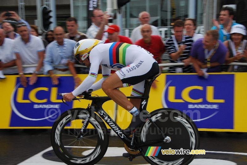 Fabian Cancellara (Team Saxo Bank) (2)