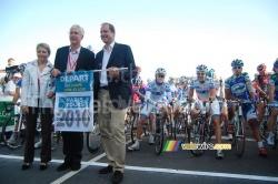 Le départ de Paris-Tours 2010