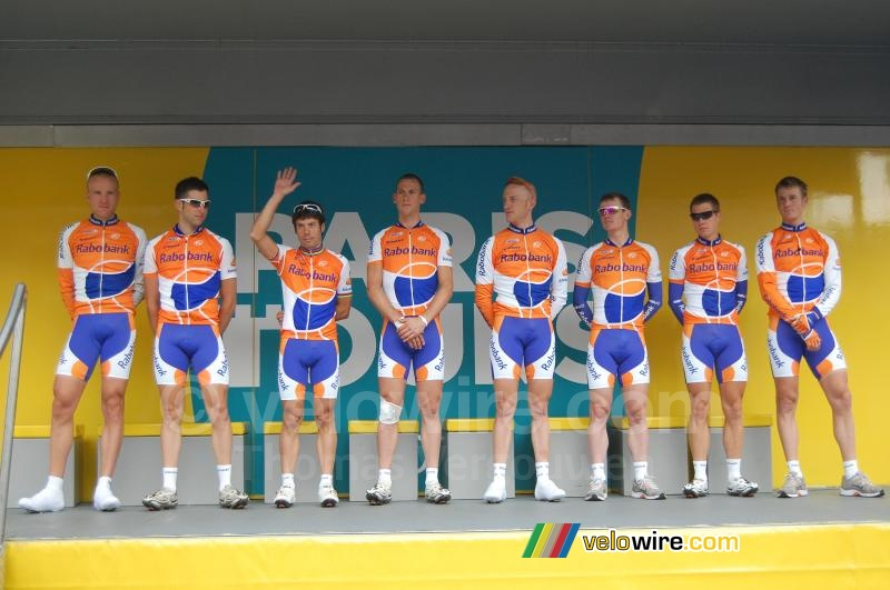 The Rabobank team