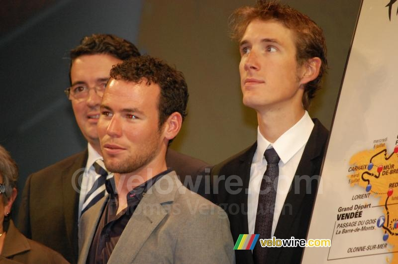Mark Cavendish & Andy Schleck