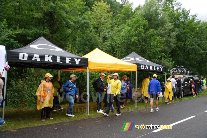 The Oakley tents