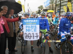 The start from Nice
