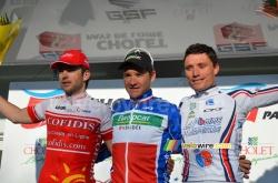 Le podium de Cholet-Pays de Loire 2011