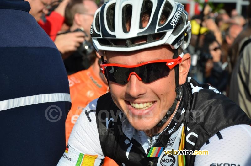 John Degenkolb (HTC-Highroad) big smile!