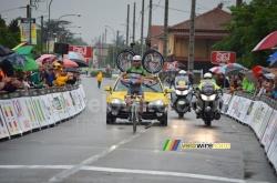 Sylvain Georges remporte la 3ème étape - © velowire.com